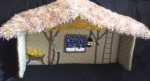 Popping another Christmas bubble right here. Jesus probably wan't born in a stable, he was more likely to have been born in the part of a family member's house. Not a stable, and not the function room of an Israeli pub.   Source: http://www.ebay.co.uk/itm/BRAND-NEW-HAND-KNITTED-NATIVITY-STABLE-Thatched-Effect-Roof-Snow-Scene-Window-/321226895841 Stable.
